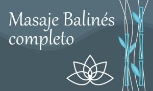 Masaje Balinés completo