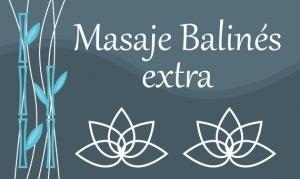 Masaje Balinés extra