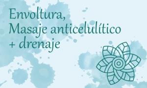 Envoltura, Masaje Anticelulítico y Drenaje (5 sesiones)