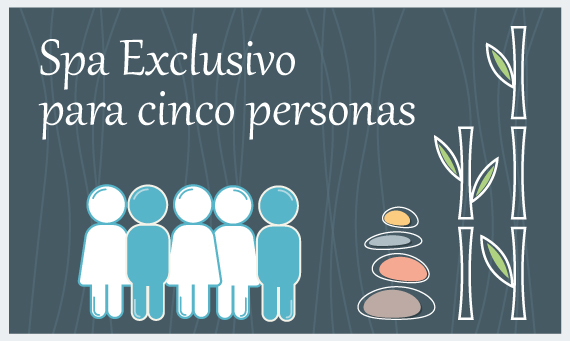 Spa exclusivo 5 personas
