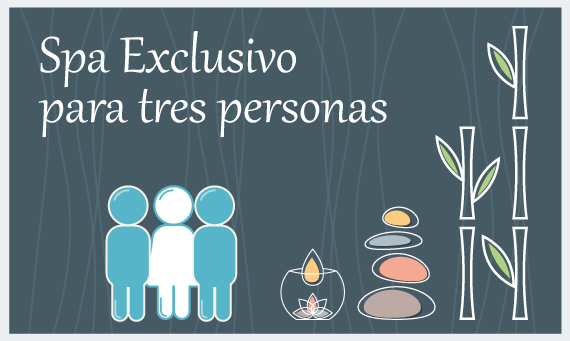 Spa exclusivo 3 personas