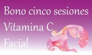 Facial Vitamina C (5 sesiones)